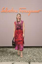 Madelyne Cline - Salvatore Ferragamo Spring/Summer 2022 Show in Milan 09/25/2021