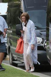 "Mandy Moore - ""This is us"" Filming Set in Los Angeles 09/20/2021"