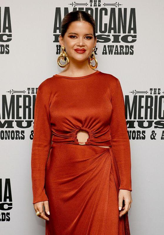 Maren Morris - 20th Annual Americana Honors & Awards in Nashville