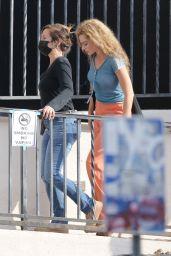 """Margot Robbie - """"Babylon"""" Set in Los Angeles 09/28/2021"""
