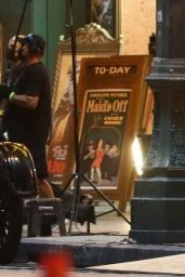 "Margot Robbie - Films a Scene For ""Babylon"" in LA 09/20/2021"