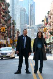 """Marisa Ramirez - """"Blue Bloods"""" Set in Chinatown, Manhattan 09/27/2021"""