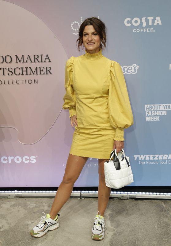 Marlene Lufen – Guido Maria Kretschmer Fashion Show in Berlin 09/14/2021