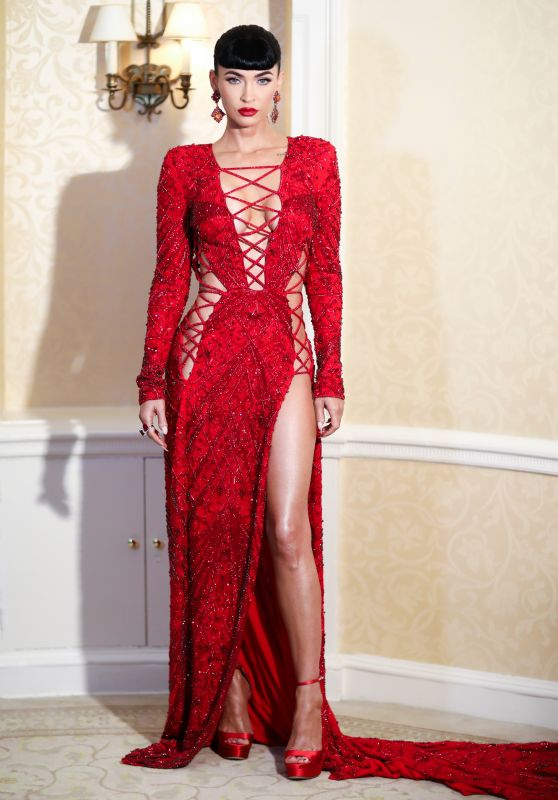 Megan Fox - Guests of DUNDAS x REVOLVE Met Gala Table Departures at The Pierre in NYC 09/13/2021