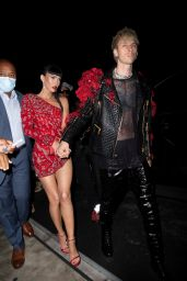 Megan Fox - Heading to a Met Gala After Party in NYC 09/13/2021