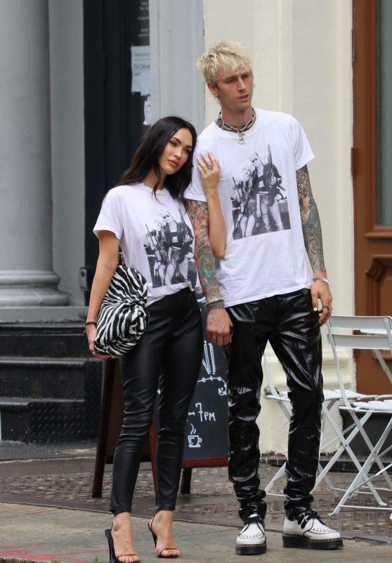 Megan Fox Street Style - New York 09/08/2021