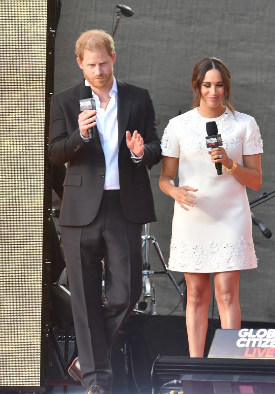 Meghan Markle and Prince Harry - Global Citizen Festival Live 2021 in New York 09/25/2021