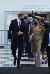 Meghan Markle and Prince Harry - Visits the UN Headquarters in New York 09/25/2021