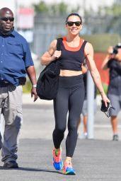 Melanie Chisholm - Leaving DWTS Rehearsals in LA 09/15/2021