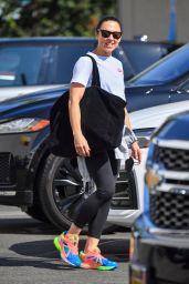 Melanie Chisholm - Leaving DWTS Rehearsals in Pasadena 09/16/2021