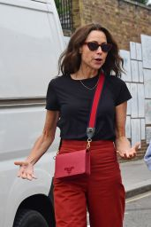 Minnie Driver - Shopping for Antiques on the Golborne Road in Notting Hill 09/04/2021