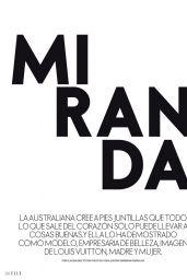 Miranda Kerr - ELLE Spain October 2021 Issue