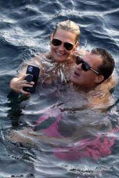 Molly Sims in a Bikini in Capri 09/06/2021