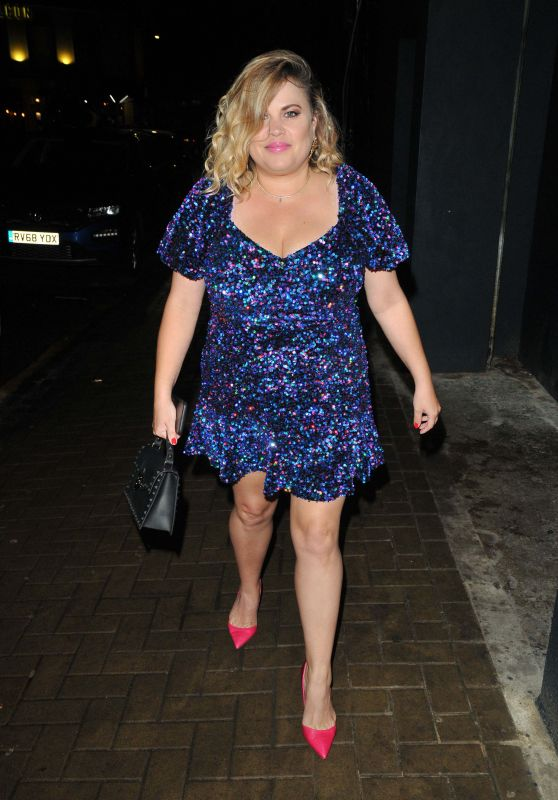 Nadia Essex – The Lit Bar Launch Party in London 09/10/2021
