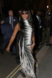 Naomi Campbell - British Vogue and Tiffany & Co Celebrate Fashion and Film in Leicester Square 09/20/2021