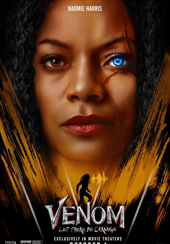 """Naomie Harris - """"Venom: Let There Be Carnage"""" Poster and Trailer"""
