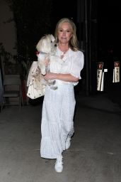 Nicky Hilton and Kathy Hilton at Giorgio Baldi in Santa Monica 09/24/2021