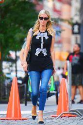 Nicky Hilton Street Style - SoHo, New York 09/19/2021