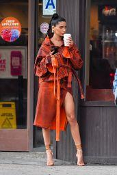 Nicole Williams is Stylish - Photoshoot in Soho, NYC 09/16/2021