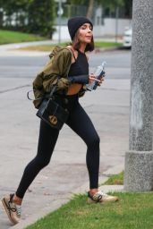 Olivia Culpo in Workout Gear - West Hollywood 09/27/2021