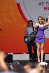 Olivia Holt – iHeartRadio Music Festival in Las Vegas 09/17/2021