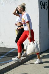 Olivia Jade Giannulli and Amanda Kloots - Out in Los Angeles 09/25/2021