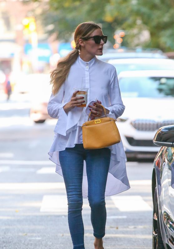 Olivia Palermo and Johannes Huebl  - Out in New York City 09/18/2021