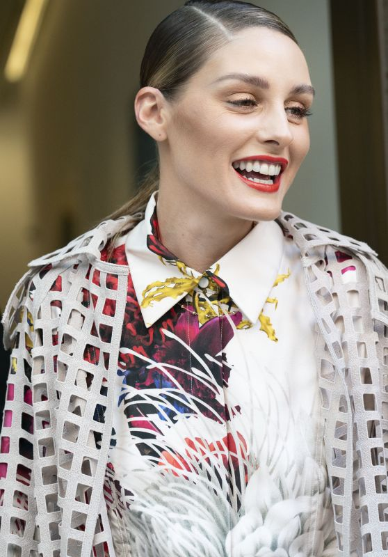 Olivia Palermo - Arrives at Jason Wu Fashion Show in New York 09/10/2021