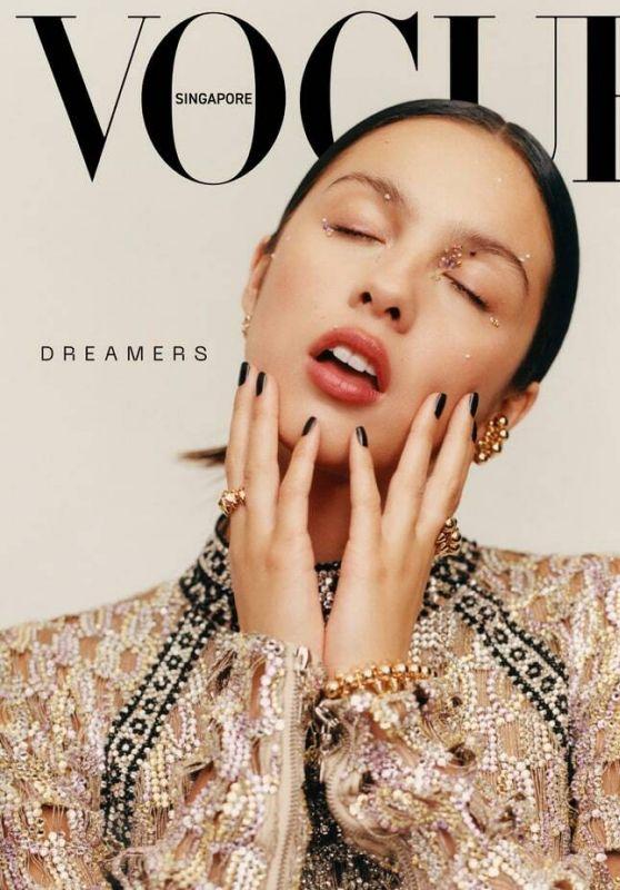 Olivia Rodrigo - Vogue Singapore October 2021