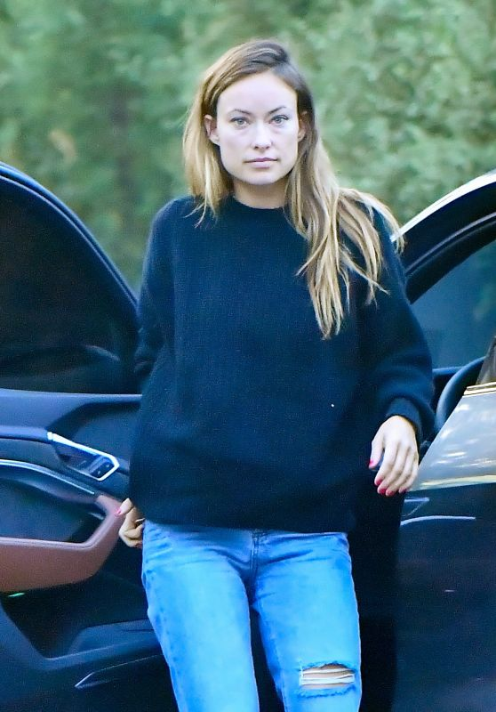 Olivia Wilde at a Studio in West Hollywood 08/31/2021
