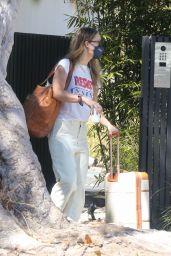 Olivia Wilde - Outside of Her Home in LA 09/12/2021