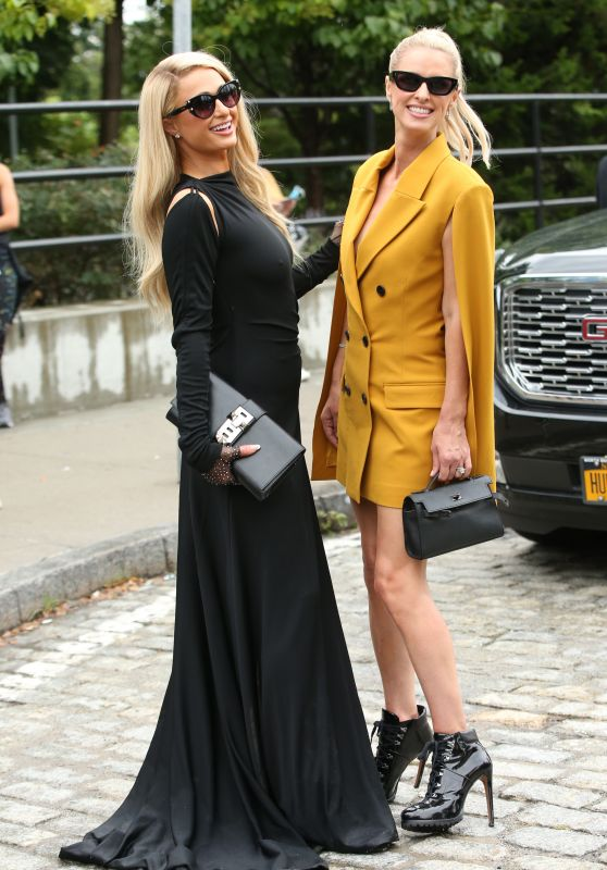Paris Hilton and Nicky Hilton - Monse Fashion Show at NYFW 09/09/2021
