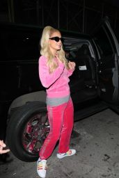 Paris Hilton - Arriving at The Blonds Fashion Show in New York City 09/12/2021