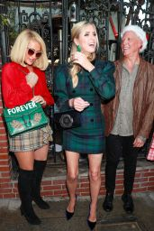 Paris Hilton, Nicky Hilton and Katy Hilton - Christmas in September Charity Event at the Abbey 09/21/2021