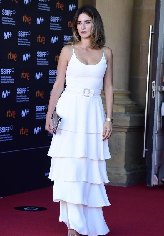 "Penelope Cruz - ""Official Competition"" Red Carpet at the 69th San Sebastian International Film Festival"