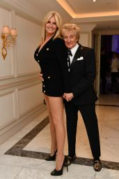 Penny Lancaster and Rod Stewart - London Fashion Week's Icon Ball 09/17/2021