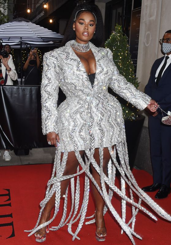 Precious Lee – Celebrities Departing The Mark Hotel in NYC for the 2021 Met Gala