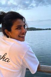 Priyanka Chopra - Live Stream Video and Photos 09/28/2021