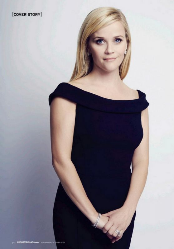 Reese Witherspoon - Industry New Jersey September/October 2021 Issue