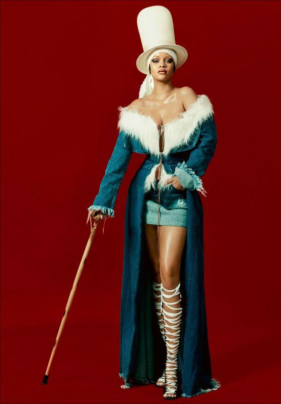 Rihanna - DAZED Magazine Autumn 2021 • CelebMafia