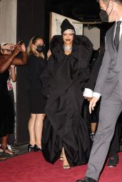 Rihanna - Head Out to the 2021 MET Gala in New York 09/13/2021