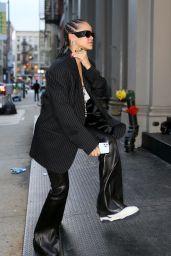 Rihanna is Stylish - NYC 09/17/2021