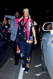 Rihanna - Leaves Carbone in New York 09/14/2021