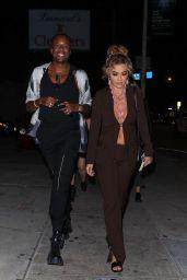 Rita Ora and Vas Morgan at Diane Warren's Birthday Party in LA 09/04/2021
