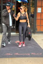 Rita Ora - Heads to a Workout in NY 09/09/2021