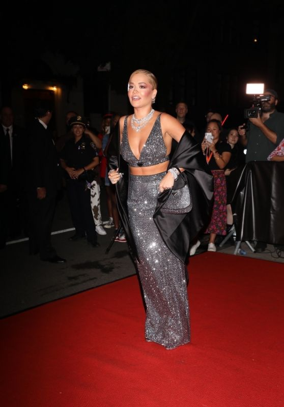 Rita Ora - Heads to the Met Gala in New York 09/13/2021