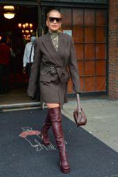 Rita Ora is Stylish - New York City 09/10/2021