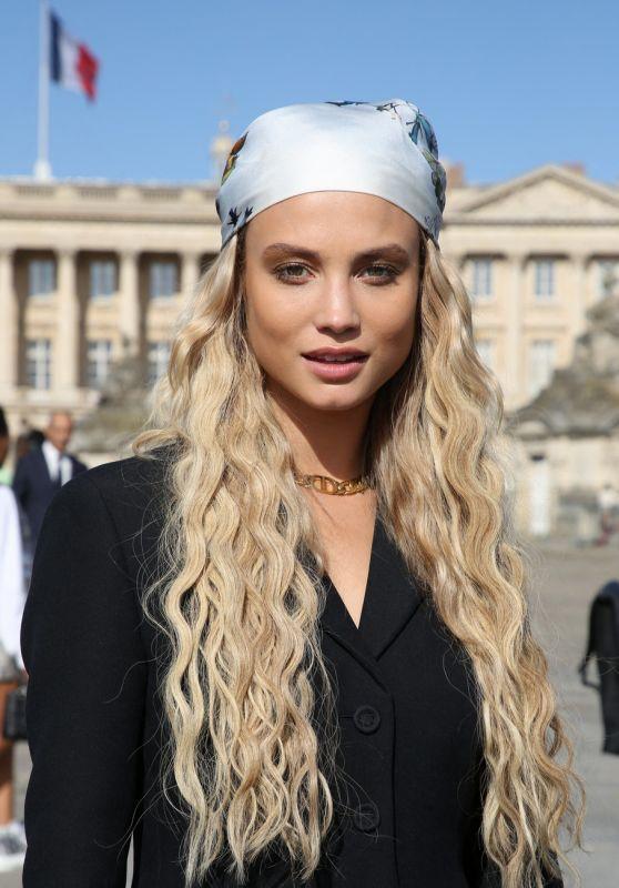 Rose Bertram - Dior Show at the Paris Fashion Week 09/28/2021