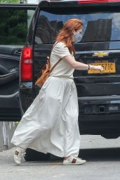 Rose Leslie and Kit Harington - Out in New York 08/31/2021