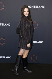 Ruby O. Fee - Montblanc UltraBlack Collection Launch in Berlin 09/15/2021